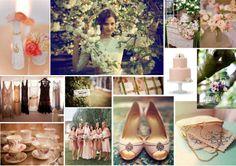Vintage peach and pink wedding board. Wedding Themes, Wedding Styles, Wedding Photos, Wedding Decorations, Wedding Ideas, Wedding Stuff, Themed Weddings, Party Wedding, Wedding Dresses