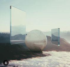 Digital art renders