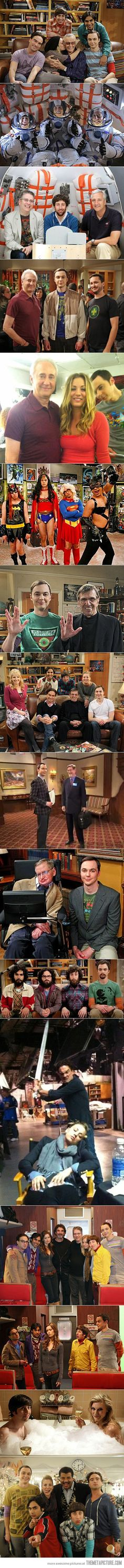It's good to be in The Big Bang Theory…