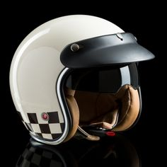 Scooter Helmet, Cafe Racer Helmet, Helmet Paint, Motorcycle Helmets, Scrambler, Bike Life, Cool Bikes, Cars And Motorcycles, Motorbikes