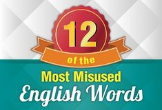 Most misused English words