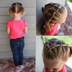 Girls from a very young age want to look beautiful and every day in a new way. Make your daughter one of these simple easy hairstyles, and she will feel the most beautiful in kindergarten! So Check the best 11 Simple Easy Little Girl Hairstyles, Easy Little Girl Hairstyles, Girls Hairdos, Baby Girl Hairstyles, Princess Hairstyles, Trendy Hairstyles, Toddler Hairstyles, Braid Hairstyles, Natural Hairstyles, Little Girl Curly Hair