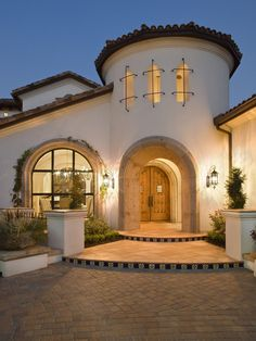 Mediterranean Exterior Design, Pictures, Remodel, Decor and Ideas - page 2