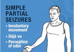 """""""Simple partial seizures are usually divided into categories depending on the type of symptoms the person experiences."""" These experiences can be motor, sensory, autonomic, and psychic. A person having this type of seizure normally experiences one of these symptoms if not more. http://www.epilepsy.com/learn/types-seizures/simple-partial-seizures"""