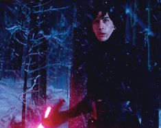 When he was twirling his lightsaber during the Starkiller base duel 23 Times Adam Driver Made Us Thirsty AF Star Wars Vii, Star Wars Kylo Ren, Reylo, Kylo Ren And Rey, Kylo Ren Gif, Estilo Tim Burton, Kylo Ren Adam Driver, The Force Is Strong, Last Jedi