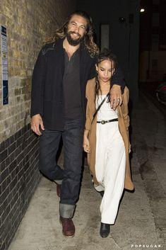"#PopSugar ..... ""Jason Momoa Bonds With His Stepdaughter, Zoë Kravitz, While Out in London.""....  http://www.popsugar.com/celebrity/Jason-Momoa-Zoe-Kravitz-Out-London-September-2016-42453611"