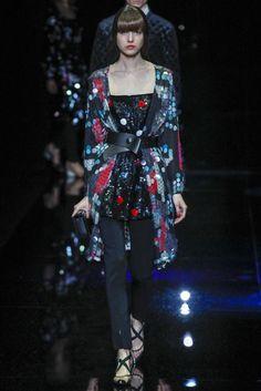 Emporio Armani Collection Autumn/Winter 2017 Ready to Wear Collection | British Vogue
