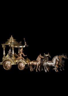 Krishna, Arjuna chariot