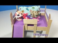 How to make a lps room loft based on our tutorials youtube how to make an lps loft bed with optional slide desk doll diy youtube ccuart Images