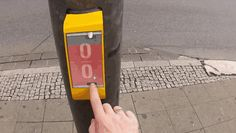 A team of creative design students have finally installed their brilliant invention, which went viral in 2012 –  a crosswalk button that will allow strangers to play pong with one another while they wait for the light to change.