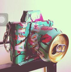 Arizona Tea camera! Too cute :)