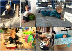 Month 10: Top 10 Sensory Activities for your 10 month old