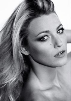 Blake Lively Marie Claire US July 2012