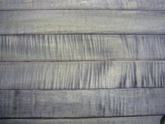 Artificially Aging and Weathering Wood - Ferrous sulfate does not work without tannic acid. So maple, beech, birch, and ash need tannic acid wash before ferrous sulfate. Here is a maple picture with tannic the FeSo4.