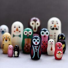 Ingela P. Arrhenius Nesting Dolls @Holly Elkins Hallberg | Huset-Shop