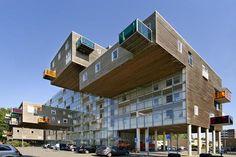 wozoco apartement in Amsterdam by MVRDV