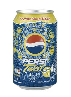 Pepsi Twist 2007 Special Edition Contest - Winner Proposal.  It has been produced on 10 million bottles and cans.