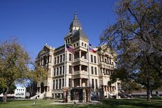Denton County Courthouse.....I love Denton's old town square was there yesterday.