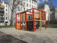 Kinderland Emsland Spielgeräte: Sinneskubus
