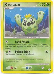 Pokemon Diamond & Pearl Great Encounters - Cacnea (Common) Card