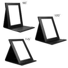 Amazon.com : DUcare Tabletop Makeup Mirror Portable Folding Mirrors Small : Beauty
