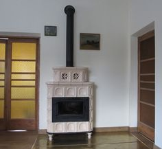 kominek z kafli Stoves, Living Room, House, Home Decor, Decoration Home, Skillets, Home, Room Decor, Stove