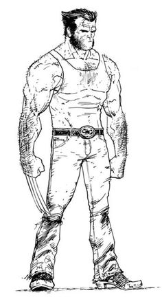 Tony Moore #Wolverine