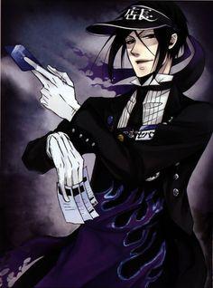 Sebastian from Kuroshitsuji