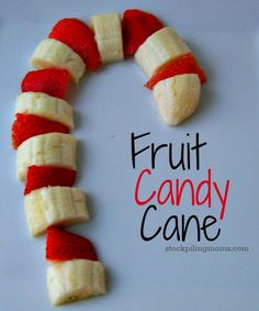 We love this fruity #candy cane! Perfect snack for #Christmas morning || #LittlePassports #winter #crafts for #kids