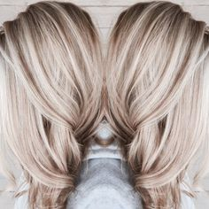 ideas for hair color blonde platinum balayage haircuts - Hair Colors Blonde Ideen Ombre Hair, Balayage Hair, Honey Balayage, Hair Dye, Hair Brush, Platinum Blonde Hair, Ash Blonde, Blonde Fall Hair Color, Red Hair