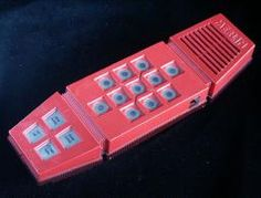 Merlin~ I had one of these!  It had games on it, but I used to pretend it was a phone.