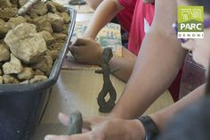 Il bronzetto è quasi pronto :) Archeolab in corso! Park