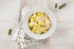 Recette de Gnocchi de pommes de terre au Parmigiano Reggiano et à la sauge