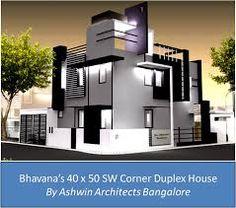 Resultado De Imagen Para Elevations Of Residential Buildings In Indian  Photo Gallery. Front Elevation DesignsDuplex HouseBuilding ...