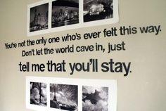 need on my wall