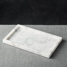 french kitchen marble rectangle tray | c&b
