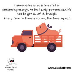 Happy Friday from the Alaska Farm Bureau! Farm Humor, Friday Humor, Happy Friday, Alaska