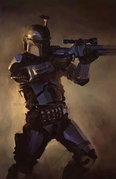 Boba Fett - Nothing Personal by ~Krad-Eelav on deviantART