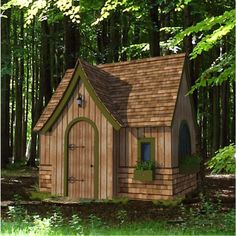 shed plans! Start building amazing sheds the easier way. with a collection of shed plans! Shed Plans 8x10, Free Shed Plans, Piscina Interior, Build A Playhouse, Playhouse Kits, Indoor Playhouse, Backyard Playhouse, Modern Shed, Shed Building Plans