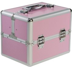 Beauty-Boxes St Tropez Pink Cosmetics and Make-up Beauty Case - http://jmibeauty.com/amz-product/beauty-boxes-st-tropez-pink-cosmetics-and-make-up-beauty-case/