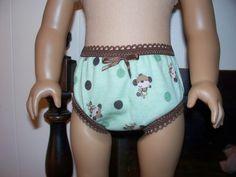 American Girl doll panties.