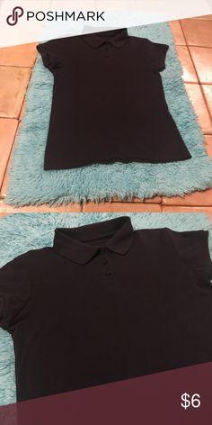 Girls Navy Blue Chaps by Ralph Lauren Shirt Girls Size 10/12 Navy Blue Collared Chaps by Ralph Lauren Shirt Chaps Shirts & Tops Polos