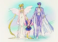 Neo Queen Serenity and her Family ❤