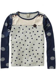 It's all about dots! New Scotch R'Belle sweat in breton style. www.eb-vloed.nl
