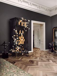 Cabinet design by Boca do Lobo   see more at: www.bocadolobo.com #bocadolobo #luxuryfurniture #furniture #furnituredesign #designideas #interiordesign #cabinet