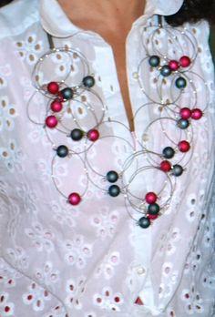 Particular  Carla Matos's Argos Double necklace for Scicche  www.scicche.it