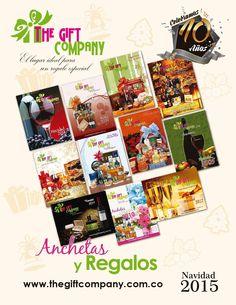 Catalogo Anchetas Navideñas 2015  The Gift Company