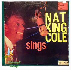 Nat King Cole Sings Vinyl LP. Very Good Condition. Vintage Collectible. Christmas. by TinkerbellVintage on Etsy https://www.etsy.com/uk/listing/485021528/nat-king-cole-sings-vinyl-lp-very-good