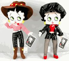 Betty Boop Doll Poseable Soft Body