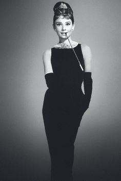 Audrey Hepburn as Holly Golightly in Breakfast at Tiffany´s (1961)